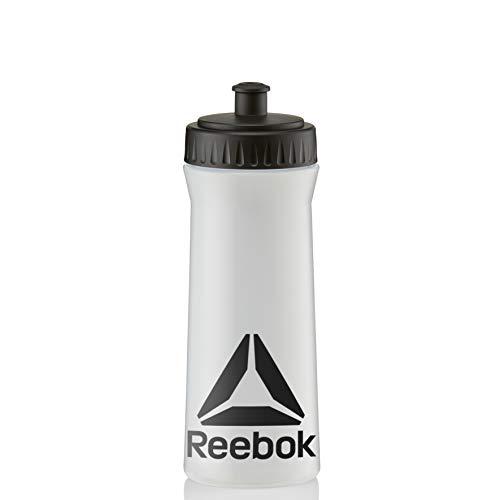 Reebok Trinkflasche, Transparent/Schwarz, 500ml