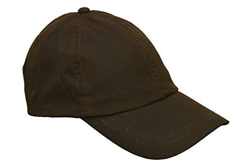 Walker and Hawkes Unisex Baseball-Kappe aus gewachster Baumwolle - Einheitsgröße Braun