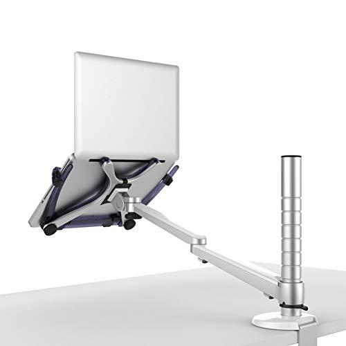 Wand-arm-mount (VIVOCC Aluminium Monitor Laptopständer Laptop ständer, Höhe Verstellbare Halter Winkel Entfernbar Wand Monitor Desk Mount Heben sie arm Mount Klemme-Montage-B 52x25x17cm(20x10x7inch))