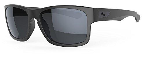 Sundog Ellwood Golf Sonnenbrille Matt Schwarz x10773Gläsern in Smoke Grau