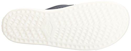 crocs Herren Citilane Roka Sandalen Flipflops, Blau (Sea / Blue / White / Strap), 48/49 EU -