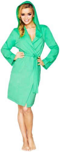 Wanmar Femme Robe de Chambre Agava Smaragd