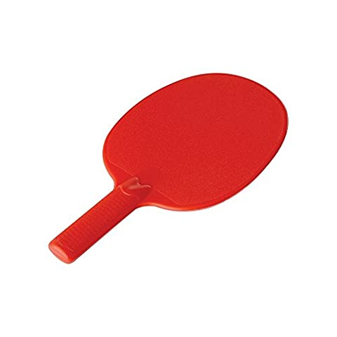 Lot de 10 Raquettes de tennis de table Rouge Incassable et résistante à l'eau