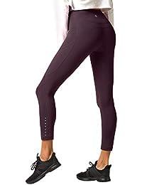 LAPASA Legging Femme Pantalon de Sport avec Poches Yoga Fitness Gym Pilates  Taille Haute Gaine Large 0dd59f8bcb2