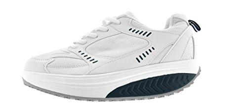 Branco Trabalhando Azul Marinho Sapatos Sapatos Eglemtek® Removidos Tm Leve Sapatos Mais Desporto Fitness Para qOEWg7EvPn