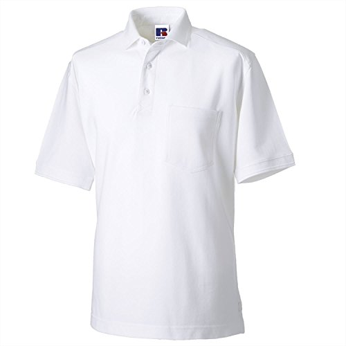 Russell Europe Heavy Duty Polo White