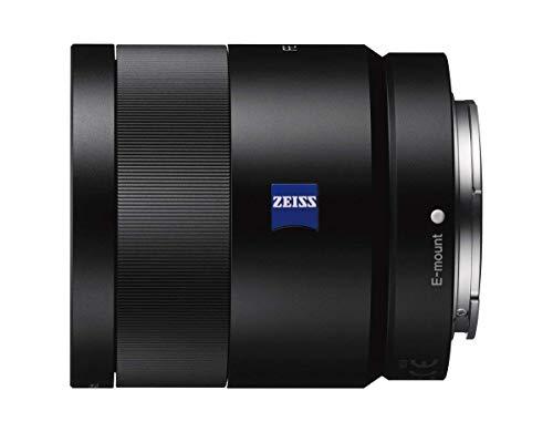 Sony SEL55F18Z Obiettivo con Focale Fissa 55 mm F1.8 Zeiss, Full-Frame, Innesto E, Nero