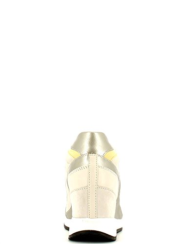 Geox D Nydame A, Sneakers Hautes Femme Blanc