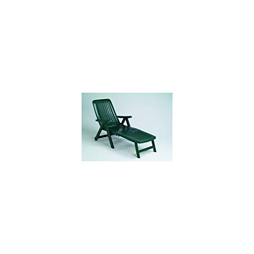 151de72b9 Garden Life 6043V Cama Plegable con Ruedas, Verde, 85x67.5x15 cm