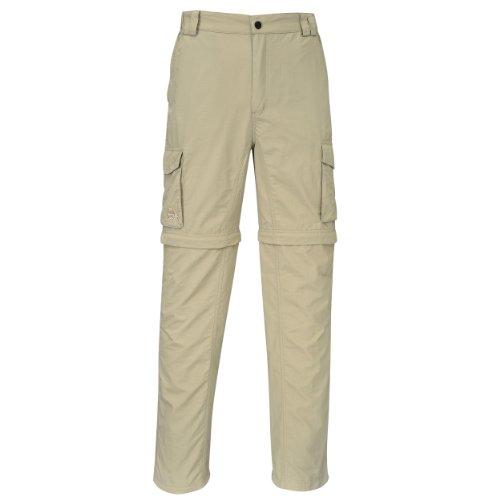 Cox Swain Trekking Hose Range Men Quick Dry - Anti Moskito - UV Schutz, Colour: Khaki, Size: L