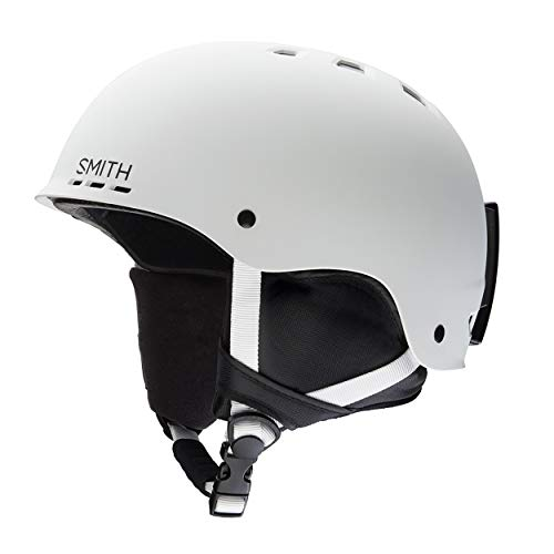Smith holt 2, casco da sci unisex-adulto, bianco (matte white), s (51 - 55 cm)