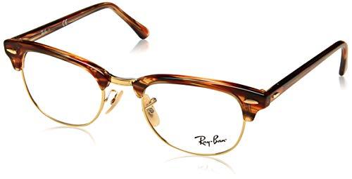 Ray-Ban Unisex-Erwachsene 0RX 5154 5751 51 Brillengestelle, Braun (Brown/Beige Spped)