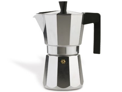Valira Espresso Coffee Maker for 12 Cups, Aluminium from Valira