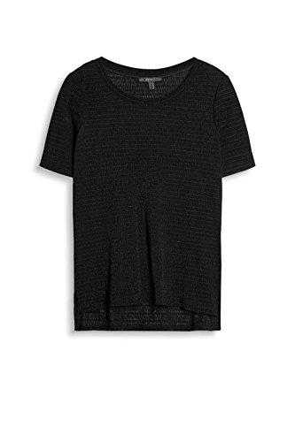 ESPRIT Collection Damen T-Shirt 037eo1k011 Schwarz (Black 001)