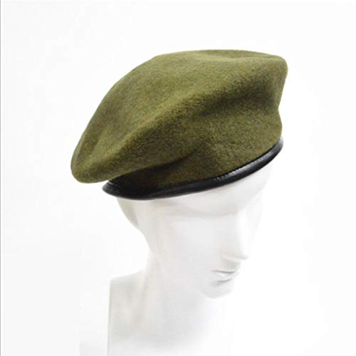 AROVON Cap Fashion Military Soldier Armee Hut Unisex Männer Frauen Winter Warme Wolle Baskenmütze ()