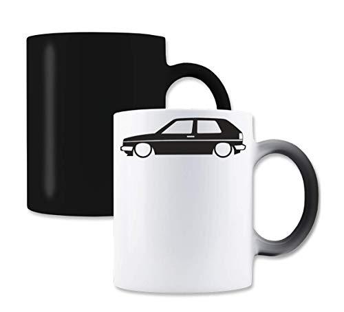 Vw Golf MK2 Stance Magische Farbe die Tee-Kaffeetasse ändert