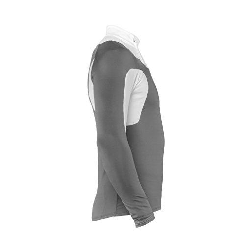 POC Layer Cut Suit Top schnittfest Steel Grey/Hydrogene White