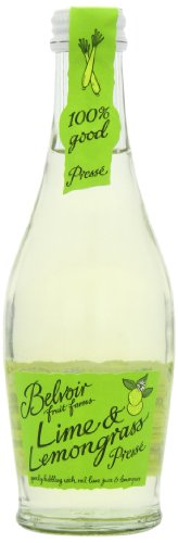 Belvoir Limonade Aromatisée Citron Vert & Citronnelle 25 cl - Lot de 6