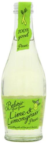Belvoir Limonade Aromatisée Citron Vert & Citronnelle 25 cl - Lot de 6
