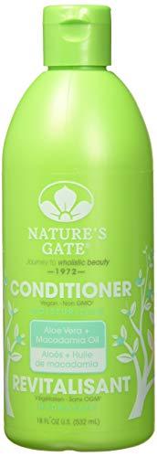 Nature's Gate Après-shampooing hydratant aux extraits d'aloès - Pour cheveux normaux à secs - 532 ml