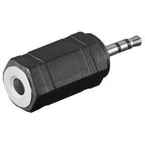 Adaptateur audio Jack 3.5mm stéréo femelle vers Jack 2.5mm mâle