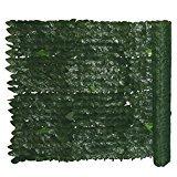 siepi siepe sintetica edera da balcone per copertura privè rotolo da h 100 x 300 cm