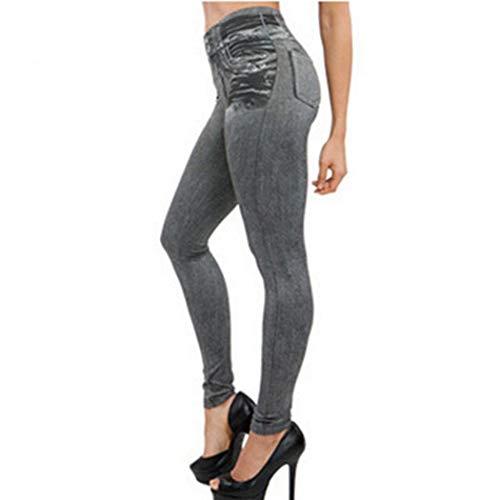 Pantaloni Stretch da Donna a Vita Alta leggins
