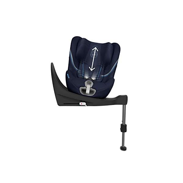 Cybex Sirona S i-Size Car Seat, Deep Black Cybex Cybex sirona s i-size car seat, deep black Item number: 520000513 Colour: deep black 4