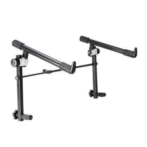 Aluminium-tier-stand (Adam Hall Stands SKS024 Keyboardständer Erweiterung/Aufsatz)