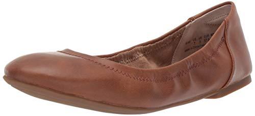Amazon Essentials Damen Ballerina Schuhe, Braun (Tan) 37.5 EU - Tan Ballet Flat