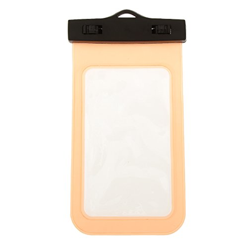Generic Universal Waterproof Underwater Pouch Dry Bag Case Orange  available at amazon for Rs.150