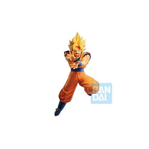 Bandai- Dragon Ball Estatua Super Saiyan Son Goku, (Banpresto BANP82733)