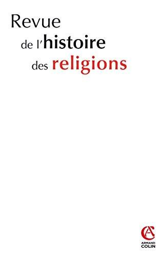 Revue de l'histoire des religions - Tome 230 (3/2013): Varia
