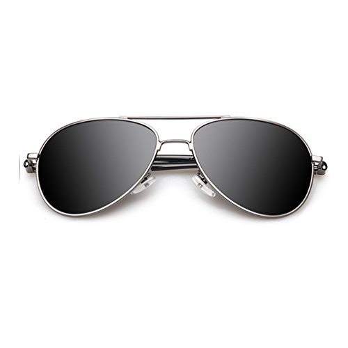 Tansle Jungen Sonnenbrille Schwarz Silver/Black