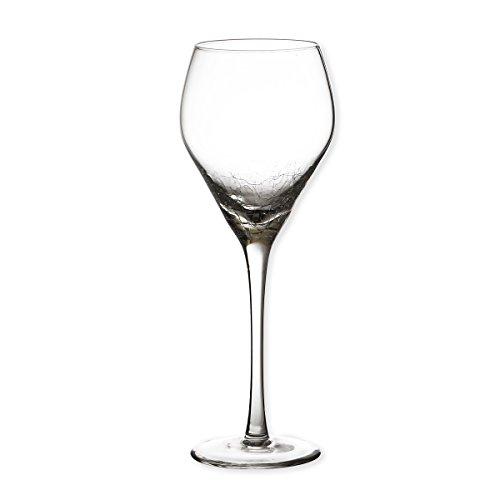 Bruno Evrard Verre à vin 30cl - Lot de 6 - CRACKY