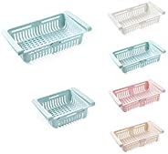boxiangxu Refrigerator adjustable telescopic storage cabinet drawer basket refrigerator drawer compartment fre