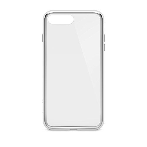 Belkin SheerForce Elite Schutzhülle (Polycarbonat, Sturzsicherheit, Anschlüsse frei zugänglich, geeignet für iPhone 8Plus/7Plus)silber