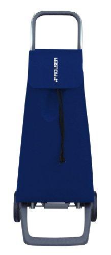 Rolser Einkaufsroller Joy/Jet LN, JET001, 35 x 30 x 97,5 cm, 40 Liter, 40 kg Tragkraft, blau