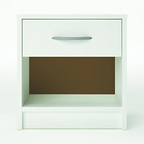 'Links Nachttisch Moore Maße 36,6x 29,5x 38,1cm