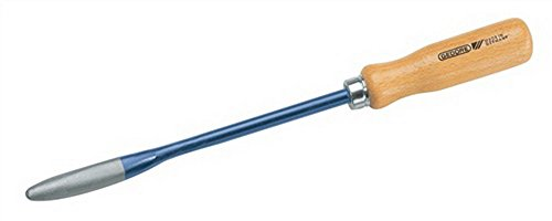 Löffelschaber Klingen-L.200mm amerik.Form mit Holzgriff