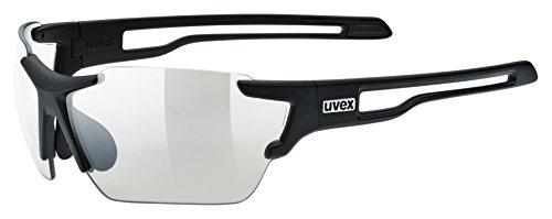 Uvex Sportstyle 803 Vario Sportsonnenbrille, black mat, One Size