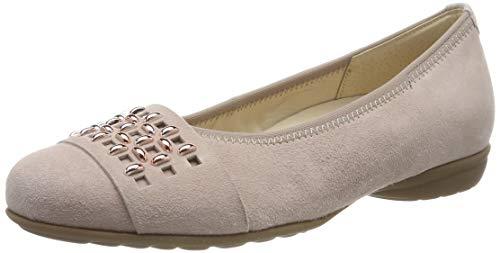 Gabor Shoes Damen Comfort Sport Geschlossene Ballerinas, Mehrfarbig (Antikrosa 35), 40 EU