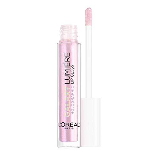 L'OREAL - Gloss - Lumière GALAXY HOLOGRAPHIC - 30ml - 4 polaris pink