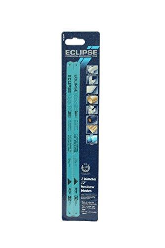 Eclipse Lot de 2 lames bimétallique pour scie à métaux 24 TPI