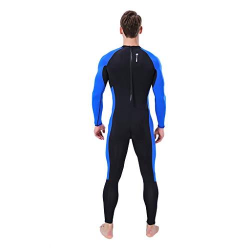 Lomsarsh Homme Wetsuit Body Suit Super Stretch Combinaison de plongée Natation Surf Snorkeling