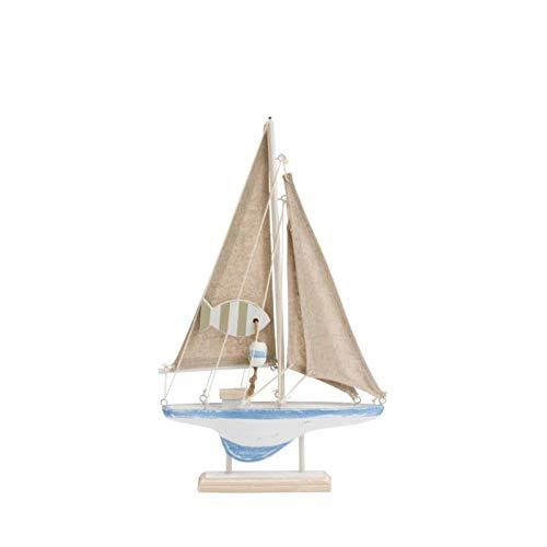 Mezzaluna Gifts - Figura Decorativa para Barco de Vela, 30 cm