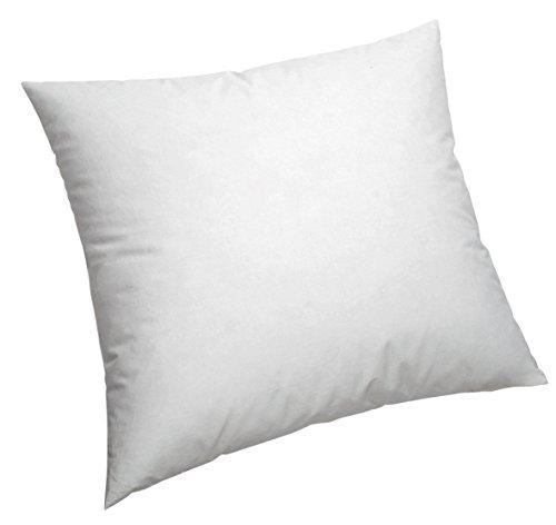 Pikolin Home - Cojín/Cuadrante, de fibra con funda 100% algodón, antiácaros, firmeza media, 50x50cm...