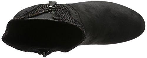 Marco Tozzi 25351, Bottes Classiques Femme Noir (BLACK ANT.COMB 096)