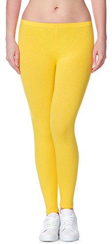 Leggins amarillos largos