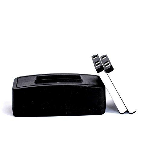 roxs Set di ricarica per AgfaPhoto Optima 1 - Optima Battery Box
